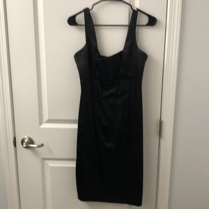 LBD with chest pleating